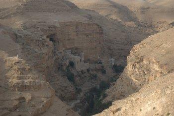 Wadi Qelt & St George's Monastery