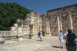 5th century synagogue at Capernaum